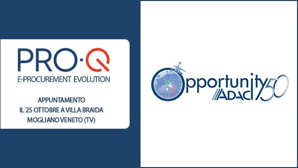 Read more about the article PRO-Q ad Opportunity 50, l'evento di Networking tra soci ADACI e Aziende Partner