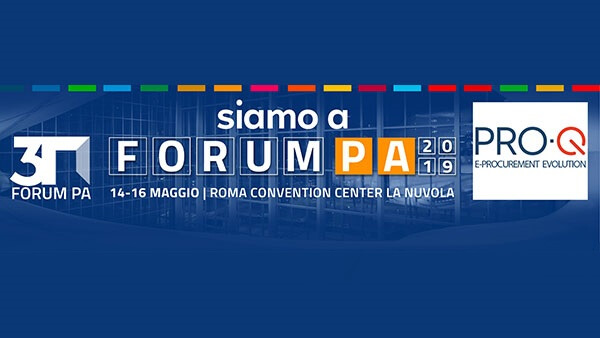Read more about the article Si rinnova l'appuntamento con ForumPA: dal 14 al 16 maggio il team di PRO-Q all'evento dedicato alla digitalizzazione della PA