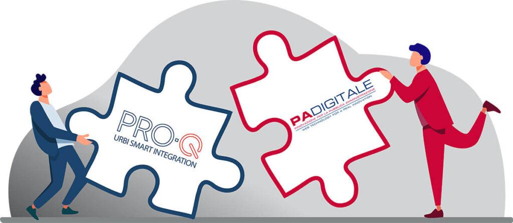 Read more about the article PRO-Q assieme ad URBI SMART di PA Digitale per fornire un servizio completo e integrato a tutte le Pubbliche Amministrazioni.